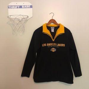 REEBOK Los Angeles Laker Sweater